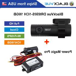 BlackVue 1 Channel DR650S-1CH Full HD WiFi GPS 16GB Dashcam