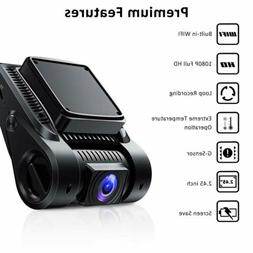 1080P Dashboard Camera WDR Driving Recorder with WiFi 170°