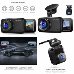 1440P&1080P Dual Dash Cam FHD Front & Rear Camera For Cars S