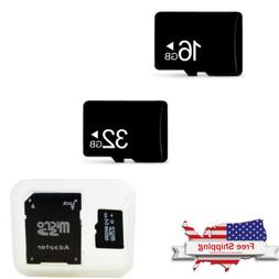 16GB 32GB Micro SD TF Memory Card + Adapter For Smart Watch