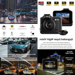 Onreal 2160P1080P Dual Dash Cam 4K Fhd Front And Rear Camera