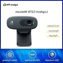 Logitech 270i Dashcam Desktop With Microphone HD Video