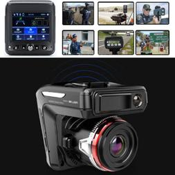 2in1 Car DVR Detector Camera Video Recorder Dash Cam Radar L