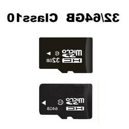 32/64GB Class10 C10 Mirco TF Memory Cards For HD 1080p Secur