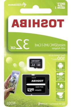 Toshiba 32GB Micro SD 100MB/s Memory card for Thinkware F750