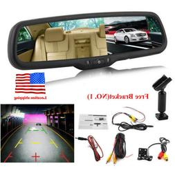 4.3'' 1080P TFT LCD Car Auto DVR Mirror Dash Cam+Rear View C