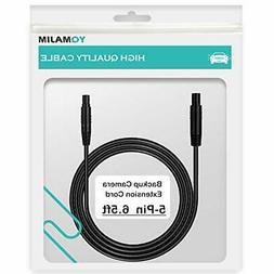 5 Pin Backup Camera Extension Cable,5 Pin 6.5 Ft Extension C