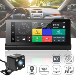7'' Foldable 1080P Wifi Android Truck Car DVR Dash Cam ️GP