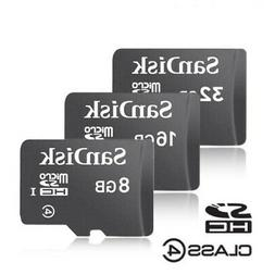 SanDisk Micro SD Card 8GB 16GB 32GB Memory Class 4 for Smart