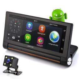 Pyle Touchscreen Android DVR Dashcam with Dual Built-in Came