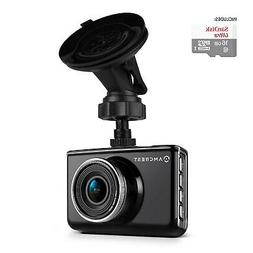 "Amcrest ACD-830B Dash Camera 1080P 3"" LCD Car DVR with 16GB"