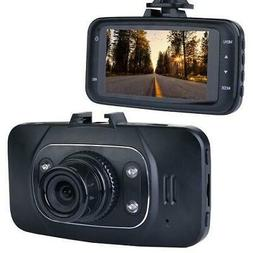 Automotive 1080p HD DashCam with Night Vision w/LCD Screen &