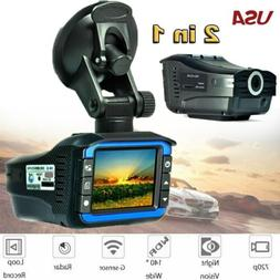 Car Hidden DVR Recorder HD Rearview Video Dash Cam Camera La