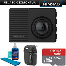 Garmin Dash Cam 66W 1440p with 180-Degree Field of View + 32