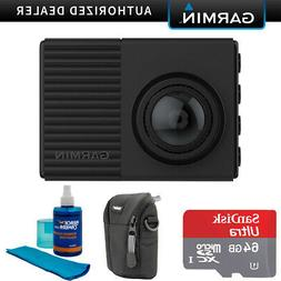 Garmin Dash Cam 66W 1440p with 180-Degree Field of View + 64
