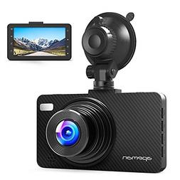 APEMAN Dash Cam Dashboard FHD 1080P Car Camera DVR Recorder
