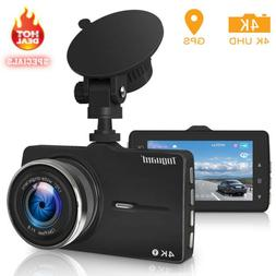 TOGUARD Dual 1920x1080P Dash Cam Front and Rear 340° Car Ca