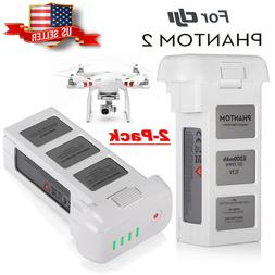 2 PACK 5200mAh For DJI Phantom 2 / 2 Vision / 2 Vision Plus+