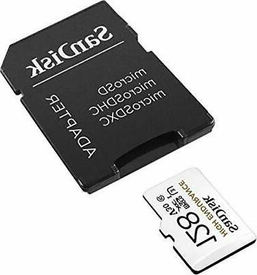 SanDisk 128GB High Video microSDXC Card with Adapter for and