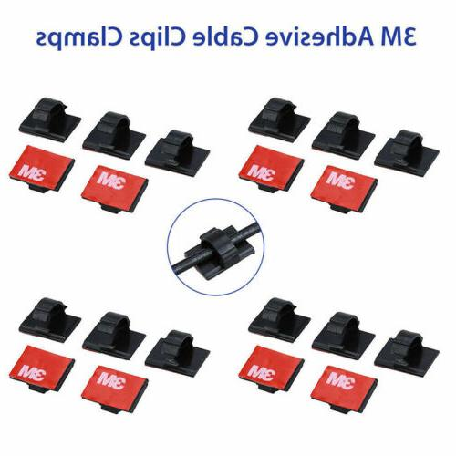 3m self adhesive wire tie cable clamp
