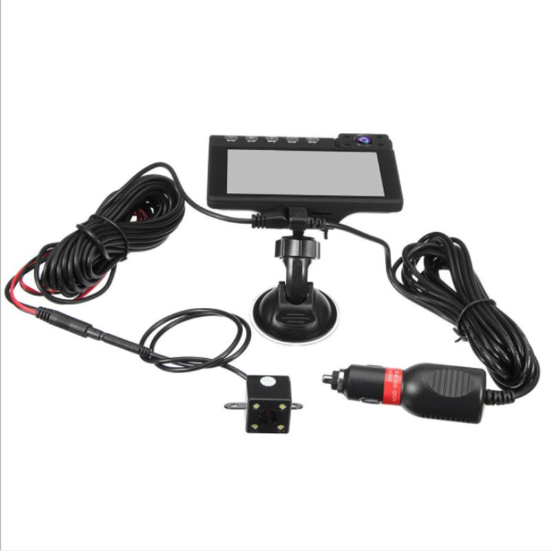 4Inch 1080P Lens Car DVR Cam Vehicle Video Recorder +
