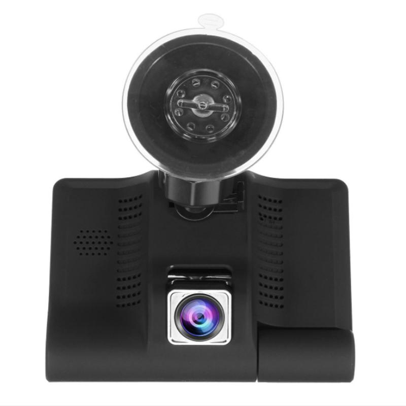 4Inch 1080P 3 Lens Cam Video + Backup