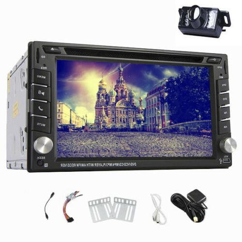 6.2'' GPS Navi Radio DVD DIN Stereo BT In +