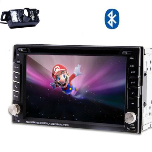 6.2'' GPS Radio DVD DIN Stereo In +