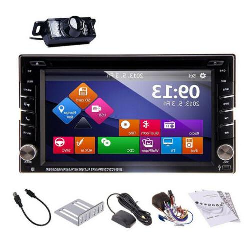 6.2'' DIN Stereo BT Touch In Dash