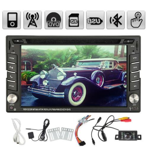 6.2'' GPS Navi Radio DVD Double DIN Stereo BT In +