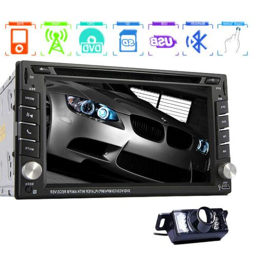 6.2'' Car GPS DIN Stereo Touch In Dash