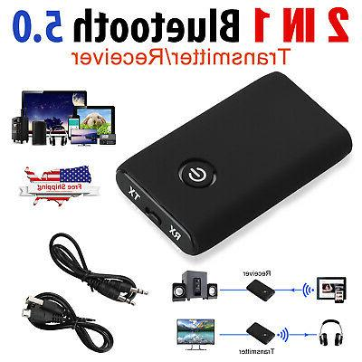 2 IN 1 Bluetooth Receiver & Transmitter Wireless RCA to 3.5m