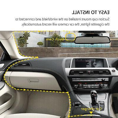 """4"""" 1080P Dual Lens Touch Screen Car Dash Recorder and Rear Camera"""