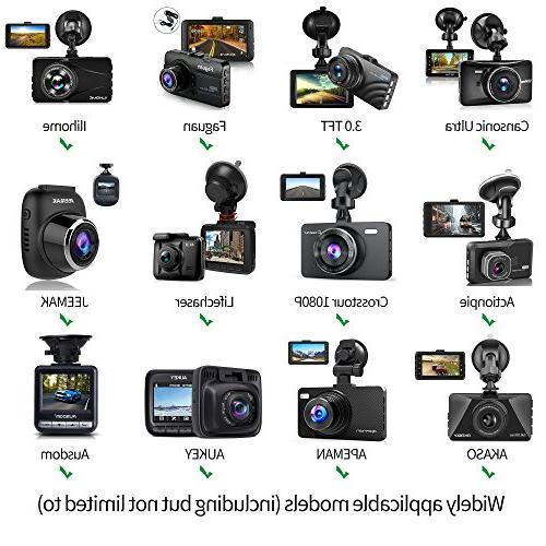 Dash Fit 99% Cam/DVR, for YI Rexing V1, AUKEY, UGSHD, and Most Dash Camera