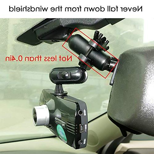 Fit for Dash Cam/DVR, for Rexing Z-Edge, and Other Dash Camera