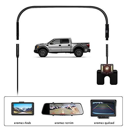 Dash Pin 9.8 Ft Extension Cable Car Recorder