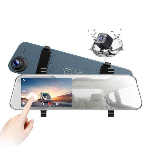 dash cam with backup camera 5 fhd