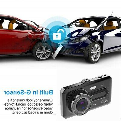 Dash Camera Cars, Front and Hd 4 Screen C