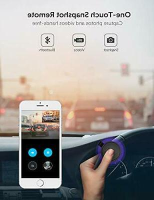 Front and dash camera cars with Wi-Fi |