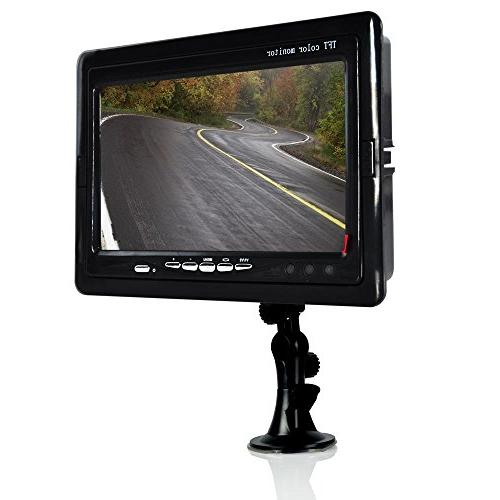 REARVIEW BACKUP CAM & VIDEO MNTR SYST 7IN