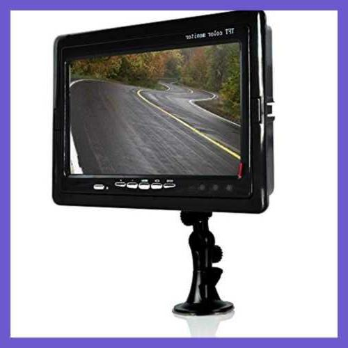 Truck Backup Camera Vehicle Mount Dash Recorder 170°