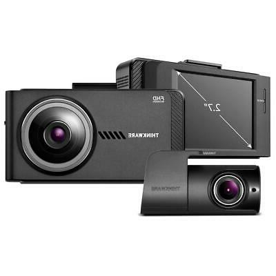x700 1080p front dash cam rear view