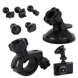 Suction Cup Mount + Mirror Mount, 5 Joint Clips,For Most Das